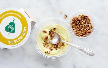 Turmeric & Coconut Yogurt with Maple-Toasted Seeds