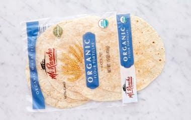 Organic Large Flour Tortillas