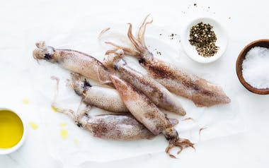 Wild Monterey Whole Squid (Frozen)