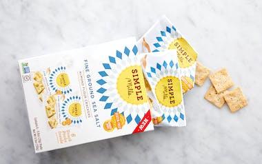 Fine Ground Sea Salt Almond Flour Cracker Snack Packs