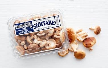 Fresh Organic Shiitake Mushrooms