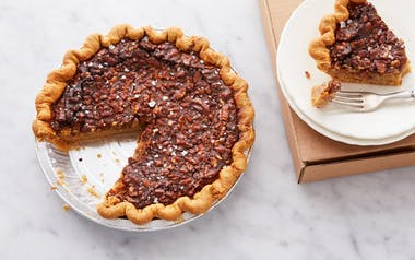 Salty Honey Walnut Pie