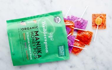 Organic Manuka Honey Lollipops