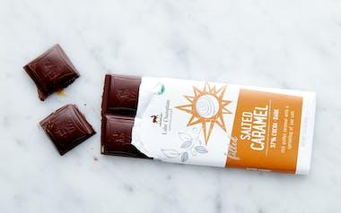 Organic Filled Salted Caramel Dark Chocolate Bar