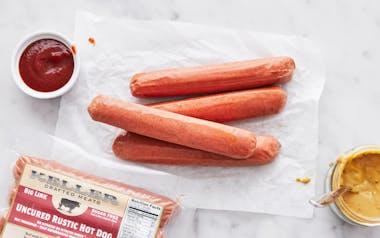 Rustic All Beef Jumbo Hot Dog (Frozen)