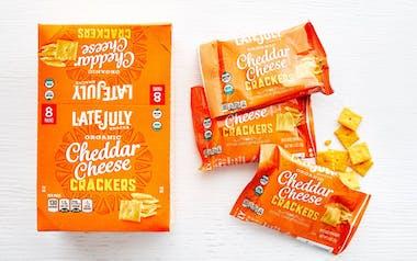 Organic Cheddar Cheese Crackers