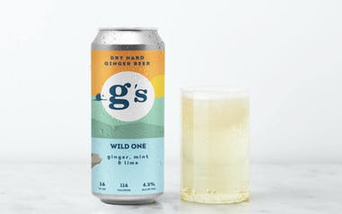 Mint & Lime Wild One Hard Ginger Beer