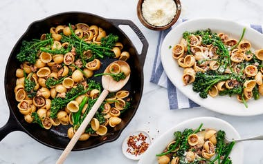 Pasta with Sausage & Baby Broccoli