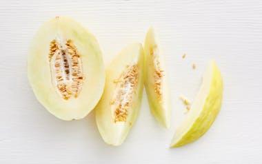 Organic Jumbo Canary Melon