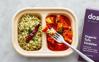 Organic Tofu Vindaloo & Curry Leaf Rice