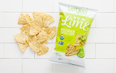 "Organic ""Sub Lime"" Multigrain Tortilla Chips"