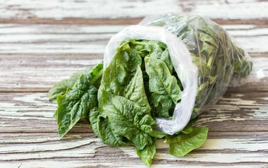 Organic Baby Savoy Spinach