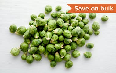 Bulk Organic & Fair Trade Brussels Sprouts (Mexico)