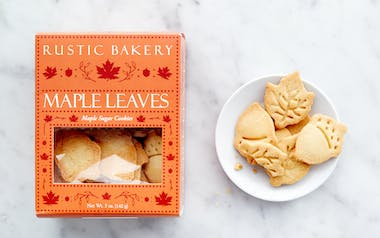 Maple Leaves Butter Cookies