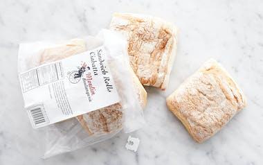 Ciabatta Sandwich Rolls