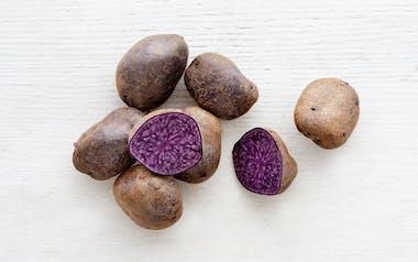Organic Purple Majesty Potatoes