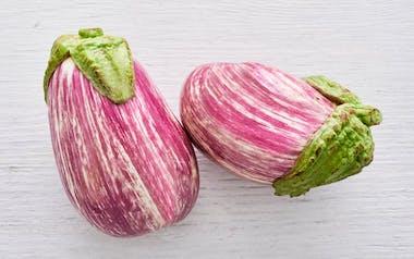 Organic Listada Eggplant