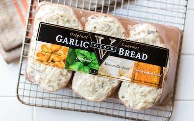 Garlic Bread with Mozzarella Cheese