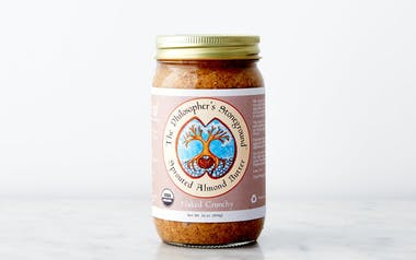 """Organic """"Naked Crunchy"""" Sprouted Almond Butter"""
