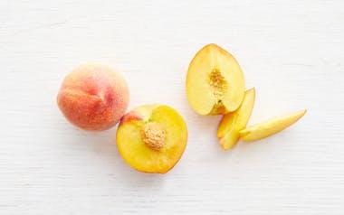 Organic Large Sun Crest Yellow Peach Duo