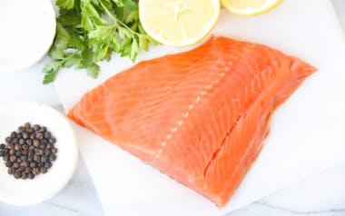 Wild Alaskan Sockeye Salmon Filet(Frozen)