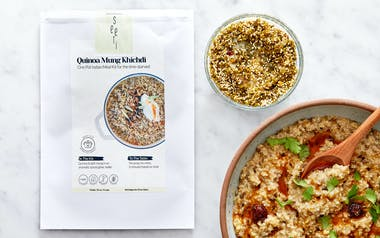 Instant Pot Vegan Quinoa Mung Khichdi Meal Kit