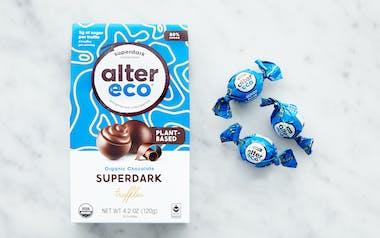 Organic Superdark Chocolate Truffles