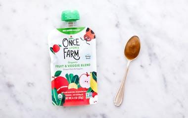 Organic Green Kale & Apples Baby Food (7+ mos)