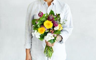 Organic Small Seasonal Bouquet