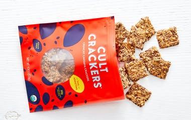 Crunchy Cassava Crackers