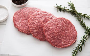 Grass-Fed Beef Burger Patties 3-Pack