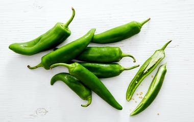 Organic Anaheim Chile Peppers