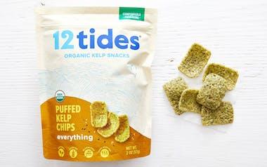 Organic Puffed Kelp Chips Everything