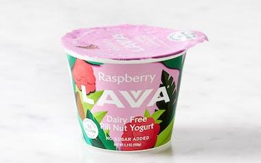 Raspberry Pili Nut Yogurt