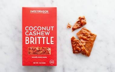 Coconut Cashew Brittle