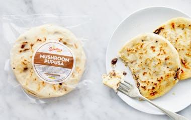Mushroom & Cheese Pupusas