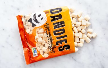 Vegan Mini Pumpkin Spice Marshmallows