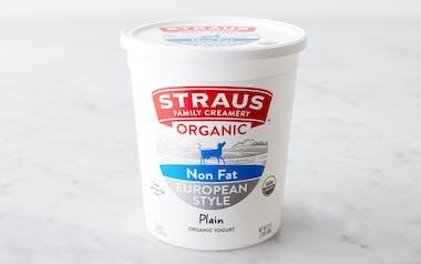 Organic Plain Nonfat Yogurt