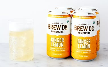 Organic Ginger Lemon Kombucha