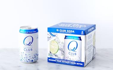 Club Soda Cans