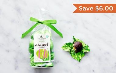 Organic Dark Chocolate Coconut Cream Easter Eggs