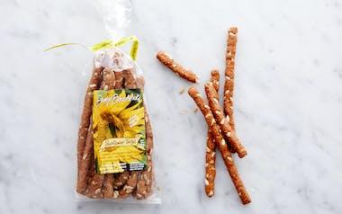Crisp Sunflower Breadsticks