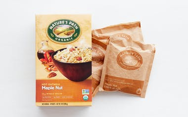 Organic Maple Nut Instant Oatmeal