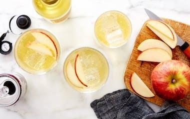 Cider Spritz with Apple & Ginger