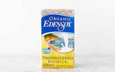 Organic Unsweetened Soy Milk