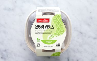 Green Curry Noodle Bowl