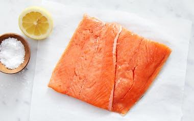 Wild Alaskan Sockeye Salmon Filet (Frozen)