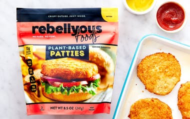 Rebellyous Plant-Based Chicken Patties