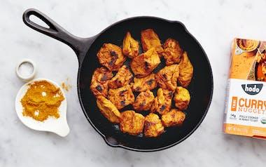 Organic Hodo Thai Curry Tofu Nuggets