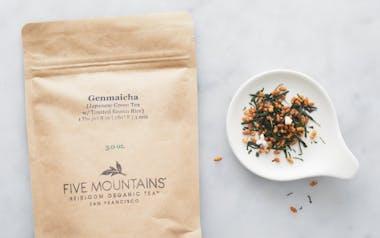 Organic Toasted Rice Genmaicha Loose Tea